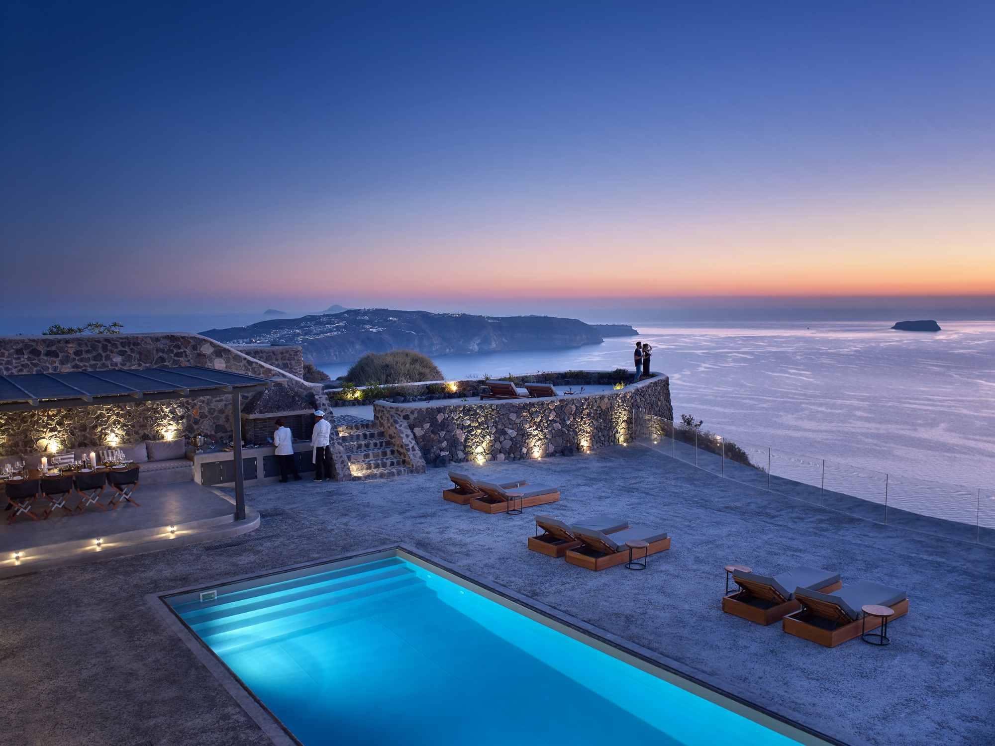 Santorini Villas For Rent Luxury Villas In Santorini