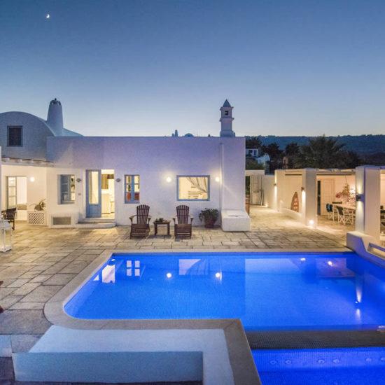 santorini wedding villas