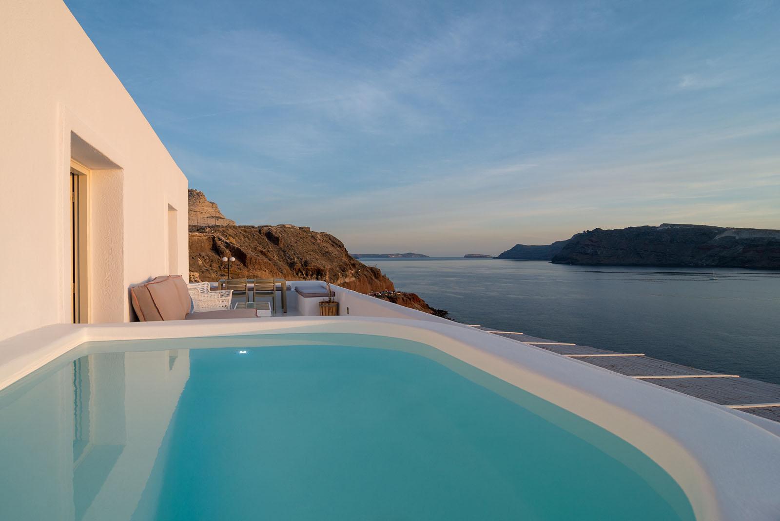 ode luxury villa oia