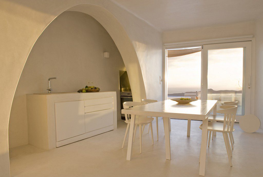 Santorini Villas With Indoor Pool Luxury Villas In Fira