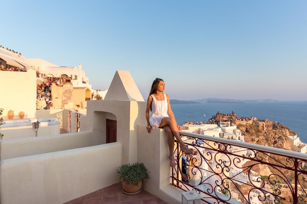 villas in santorini