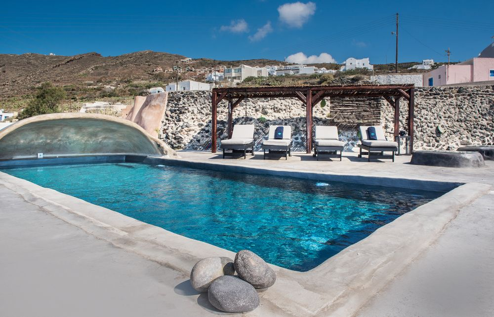 Sophia Finikia Villa Luxury Oia Villas Villas With