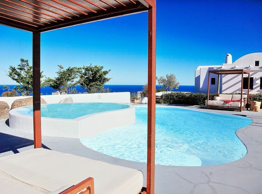pool-views-irene's-villa-fira
