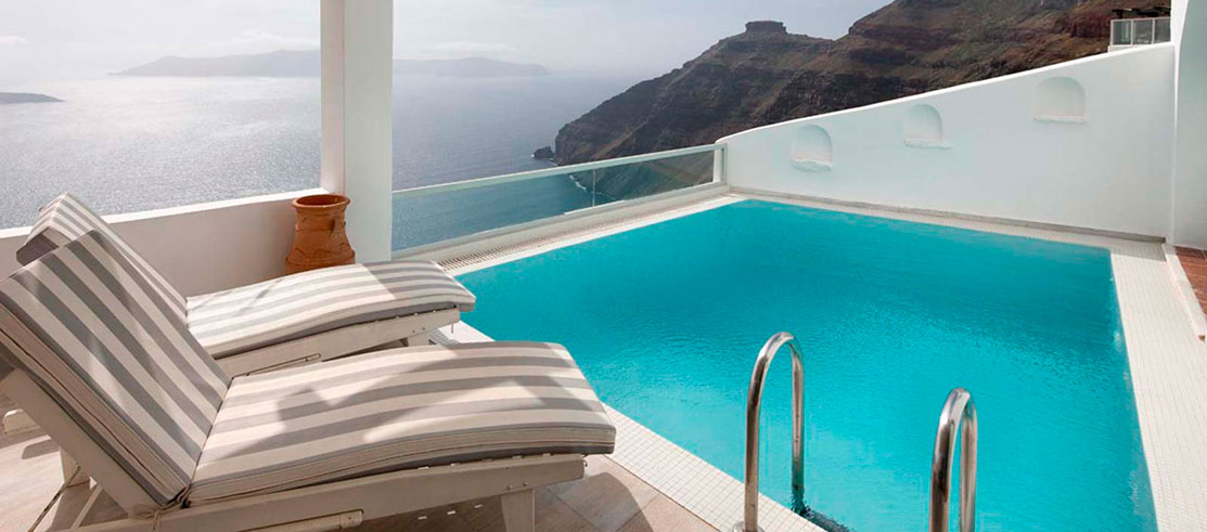 Agali Houses Santorini Firostefani / Luxury Santorini Suites ...