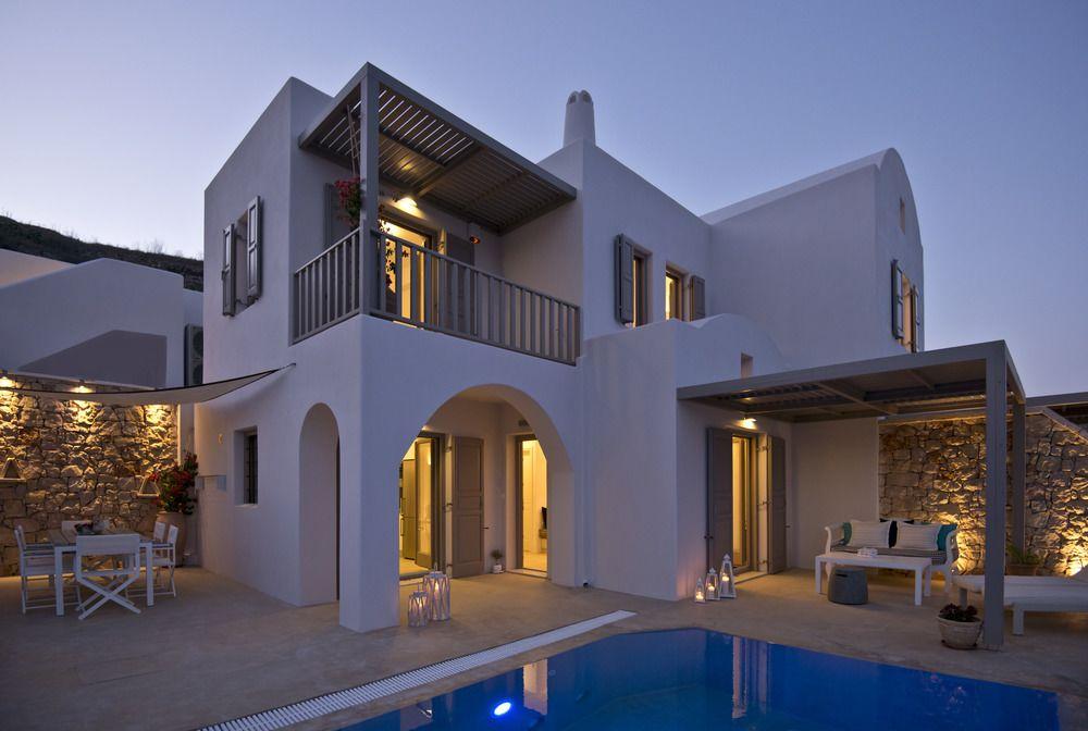 santorini family villas
