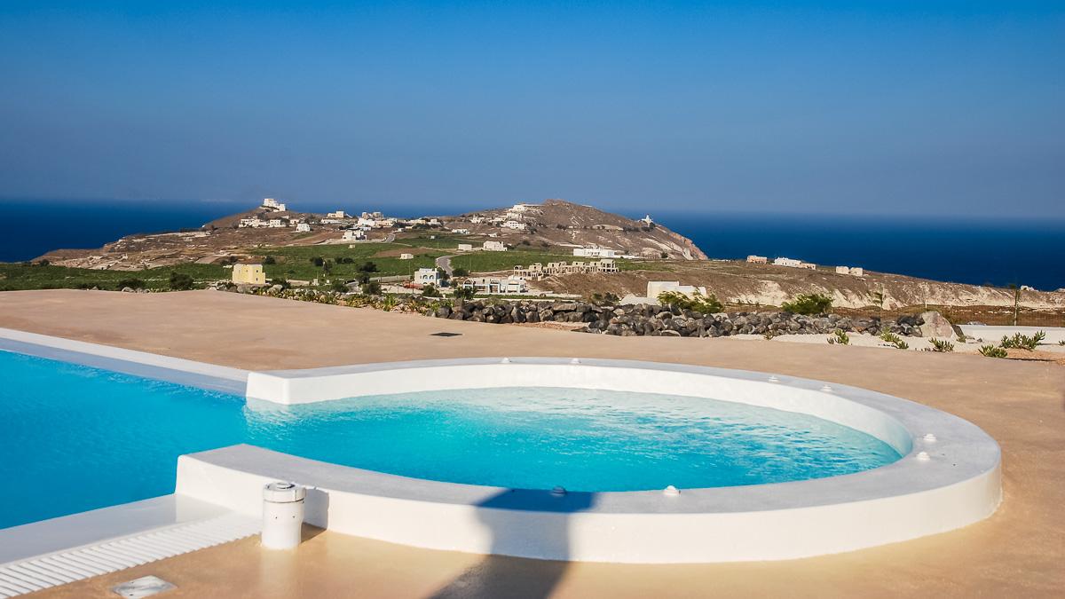 santorini villa holidays greece