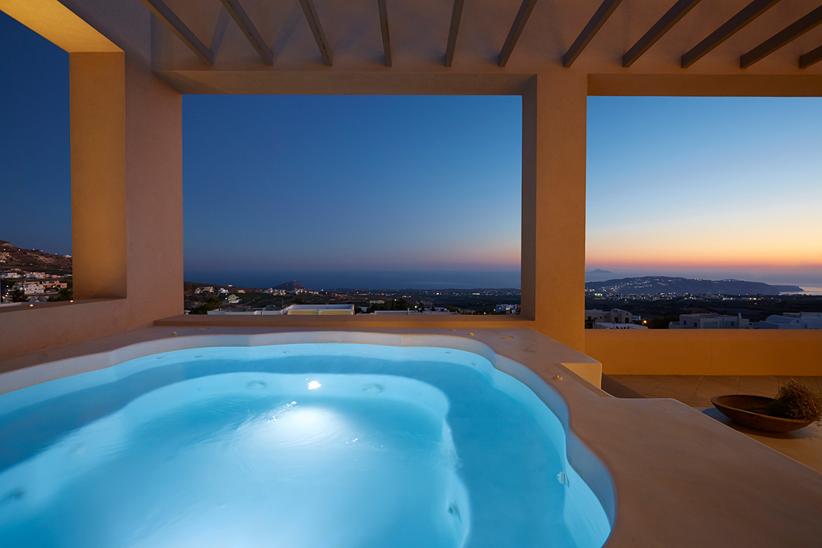 santorini luxury villas