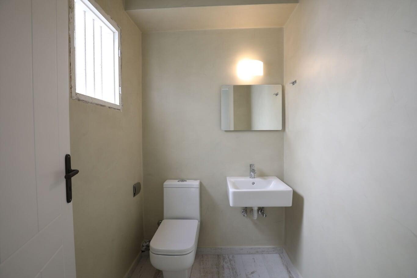 wedding villa imerovigli santorini bathroom