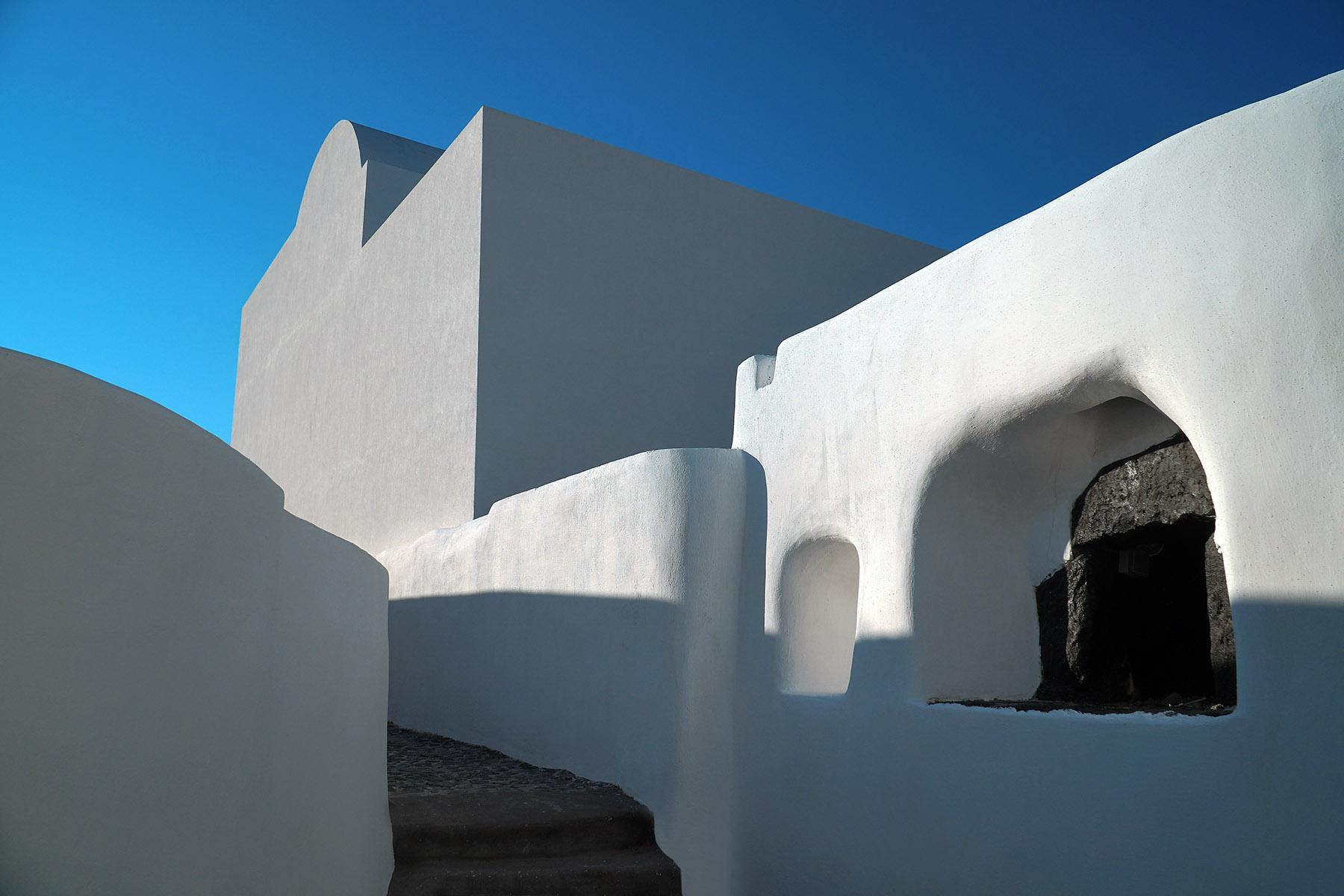 megalochori village houses