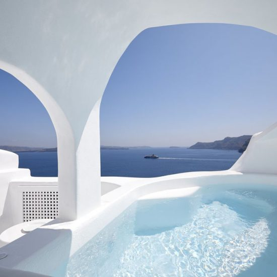 oia caldera sunset villas