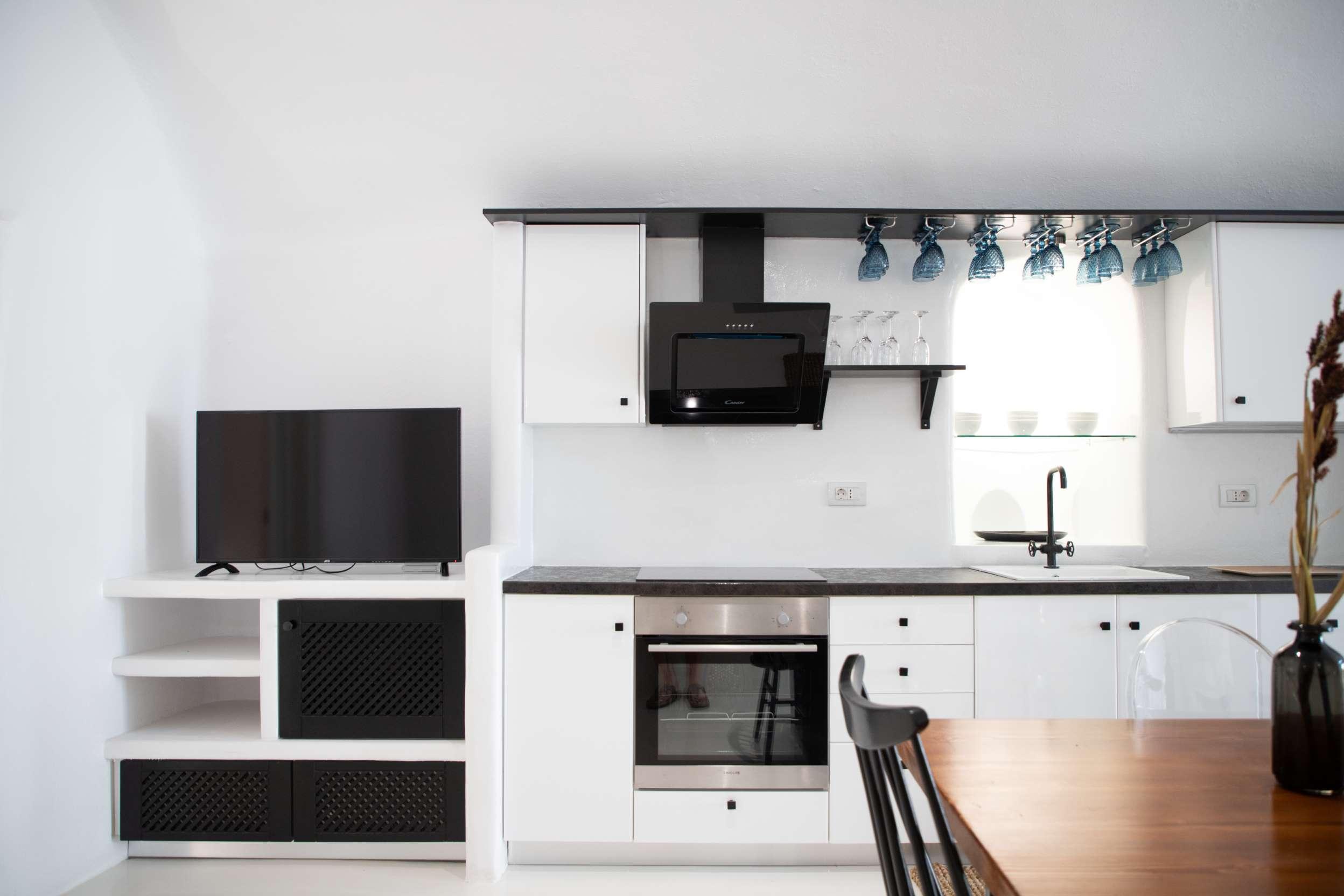 mesa gonia cave house kitchen