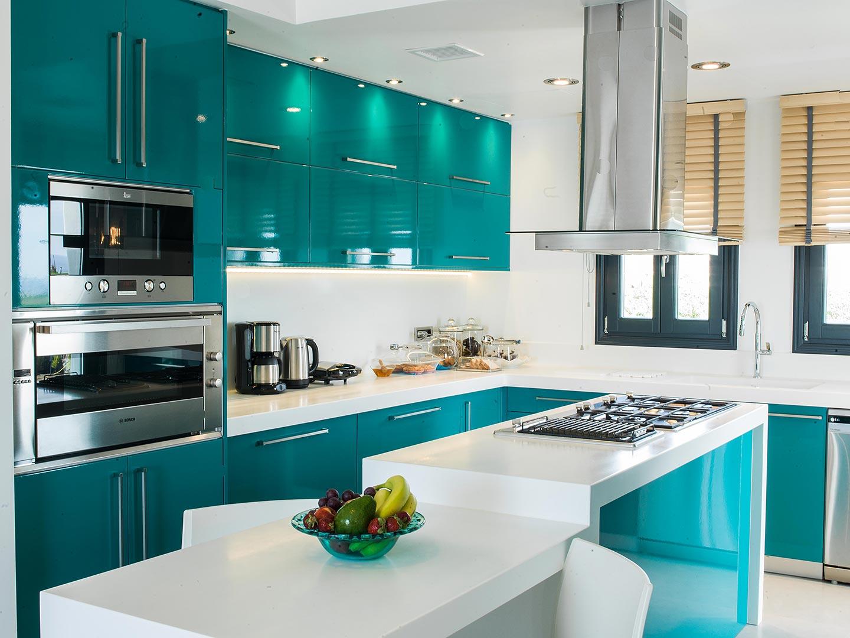 santorini villas luxury