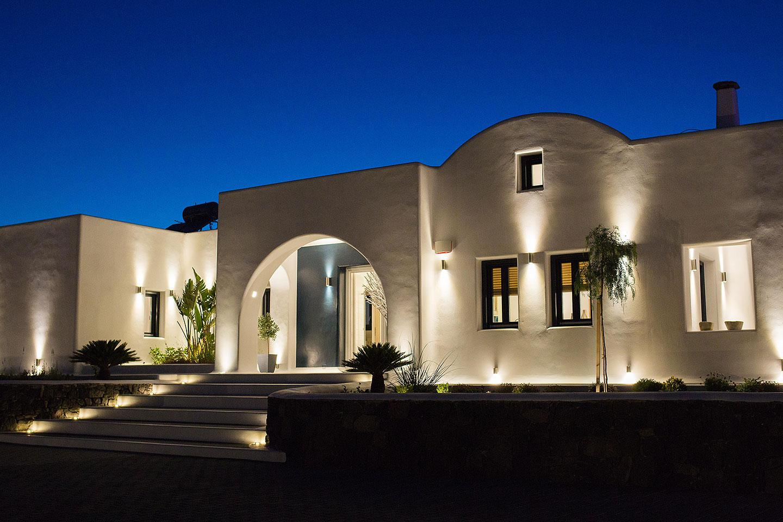 luxury villas fira santorini