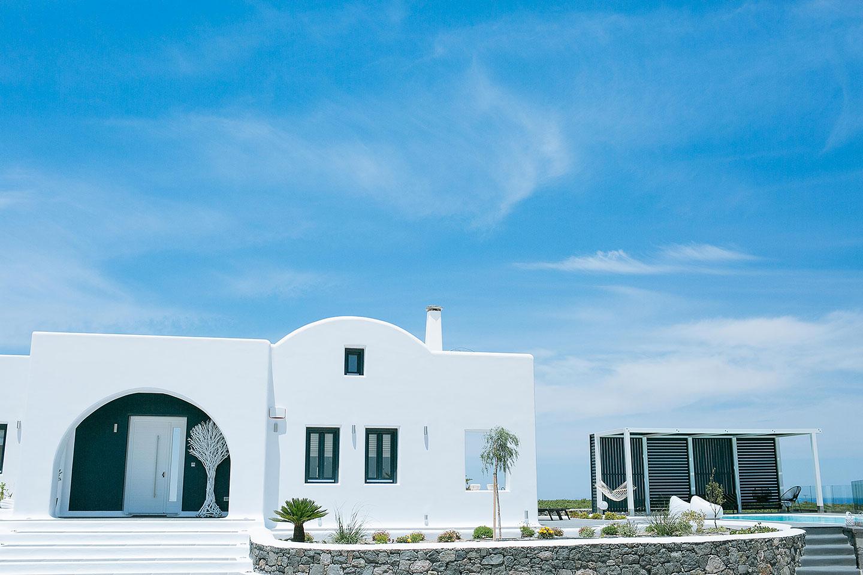 luxury villas fira