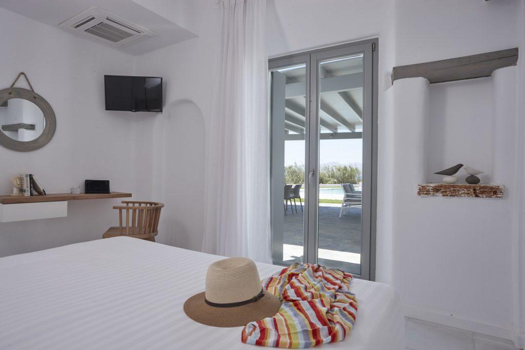 villa sur beach naxos