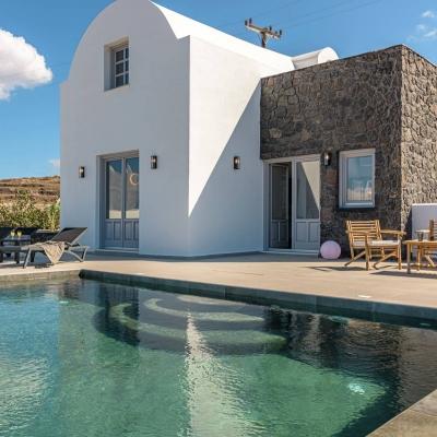 private pool villa oia