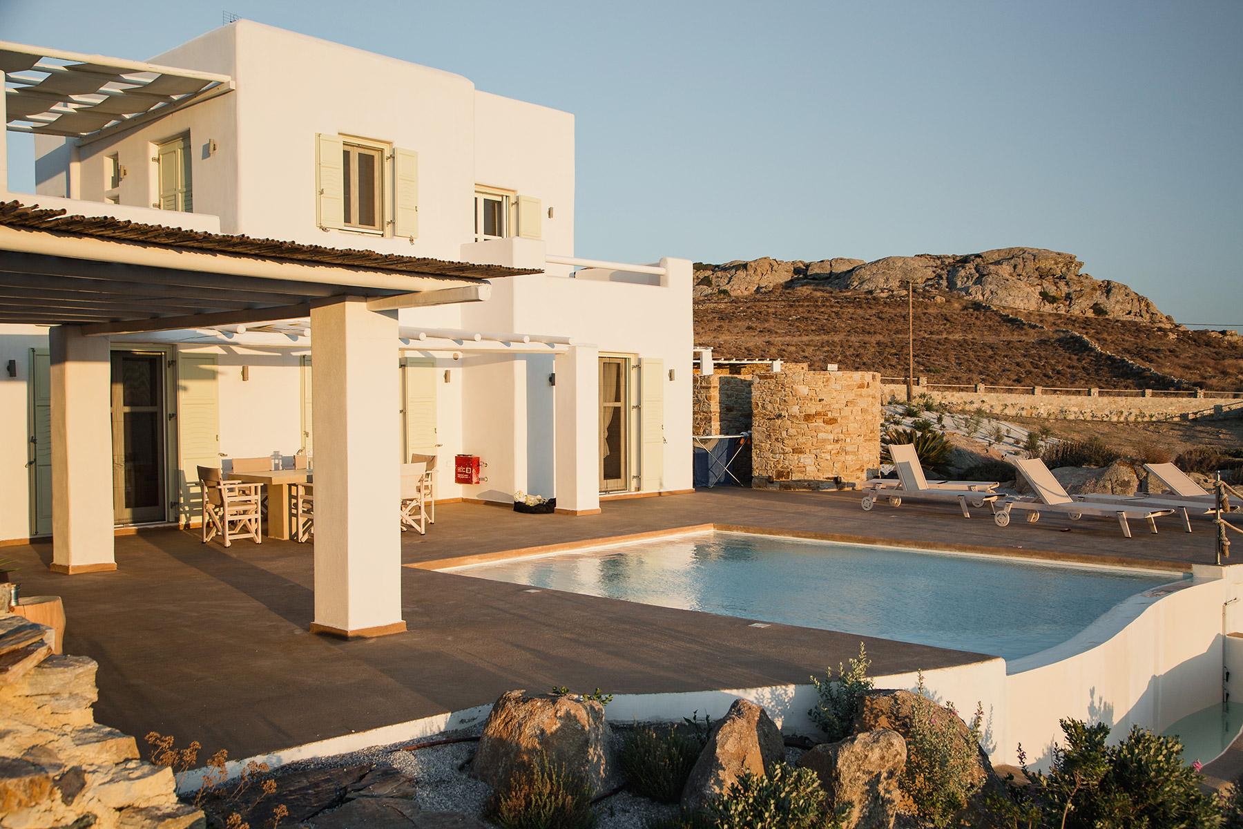 hillside villas naxos pool