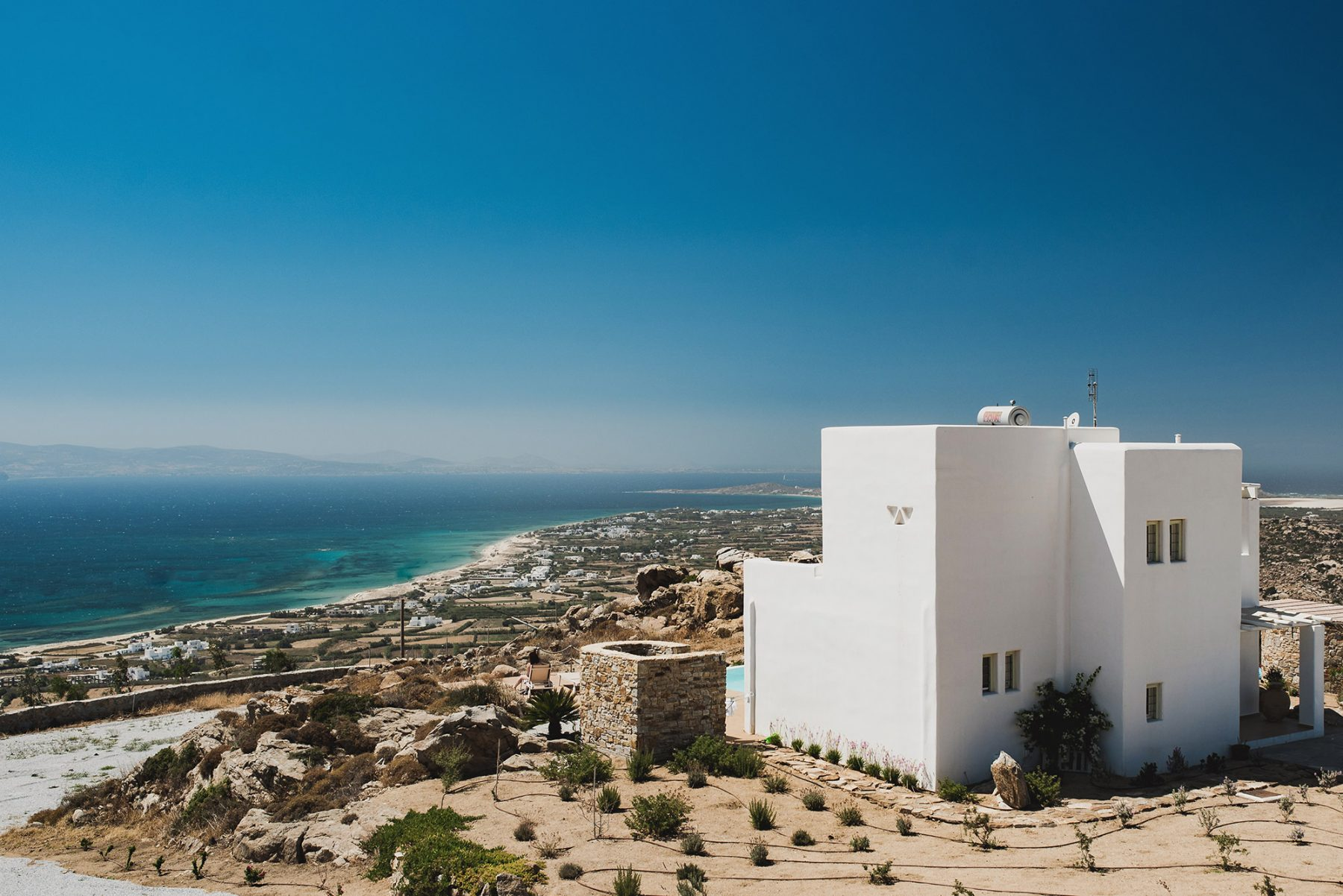 3 bedroom villas naxos with private pools