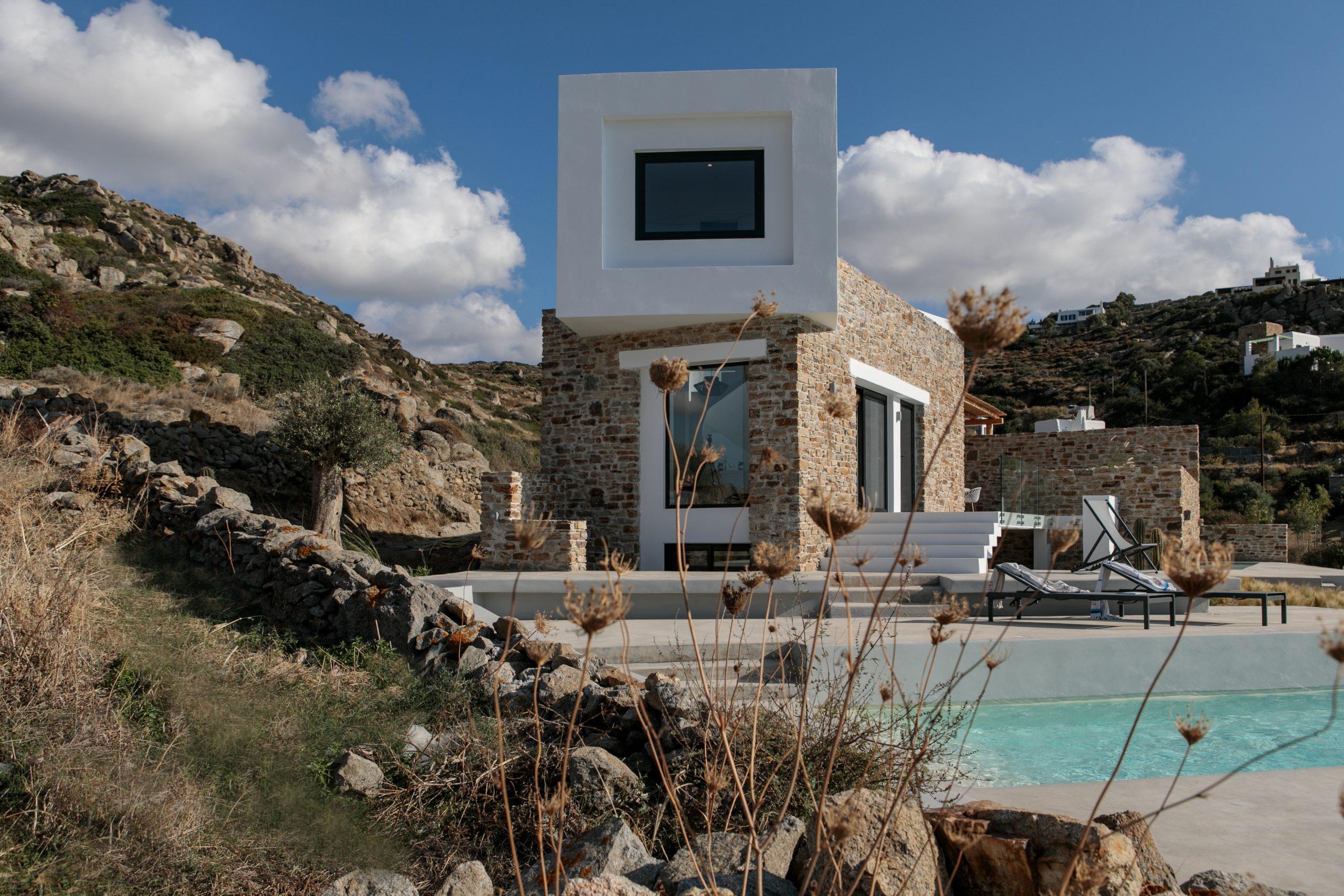 naxos villas plaka beach