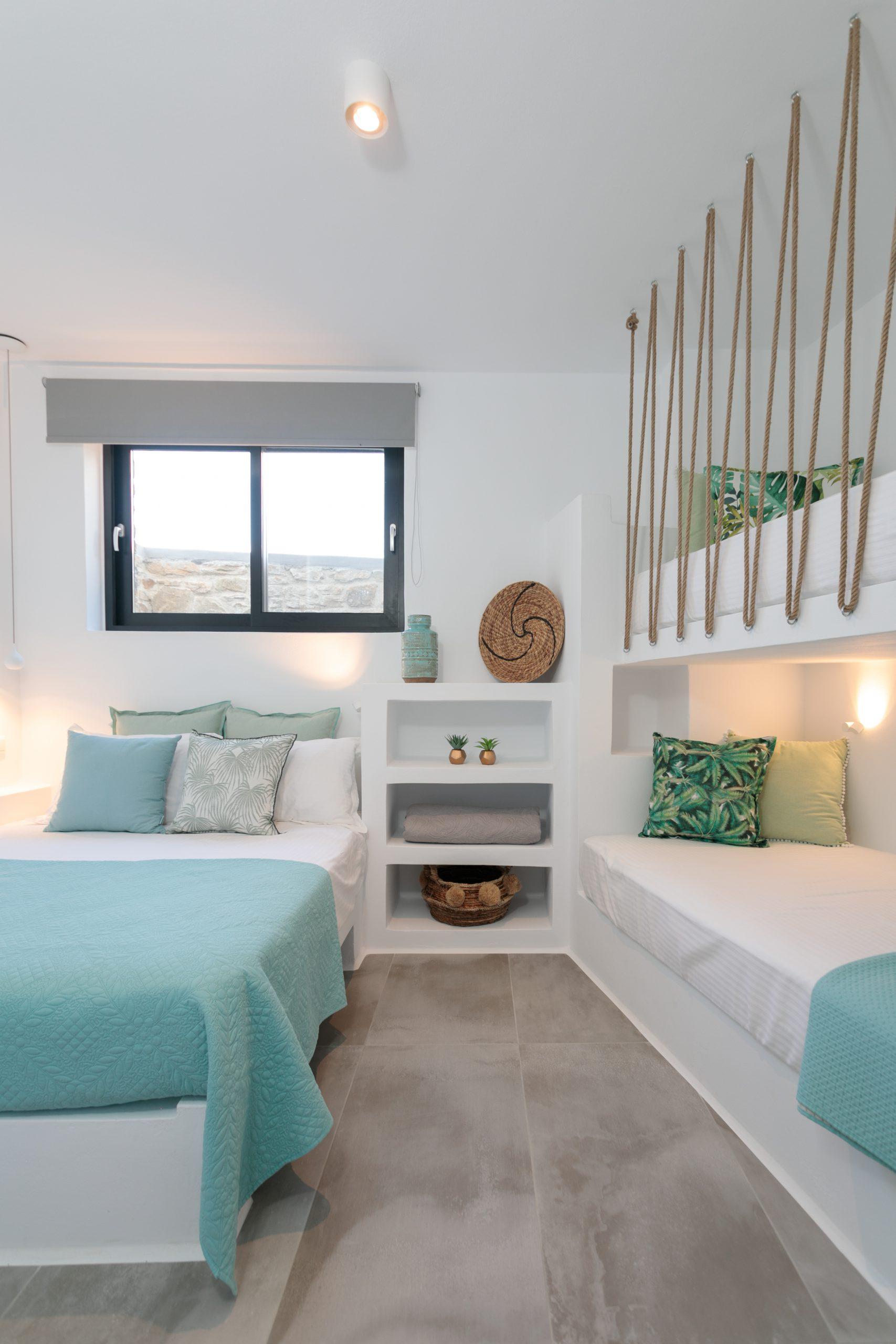 naxos villas bedrooms