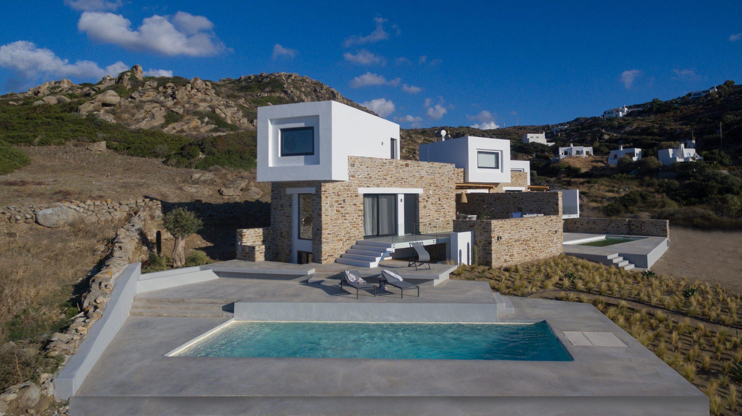 naxos villas beach house