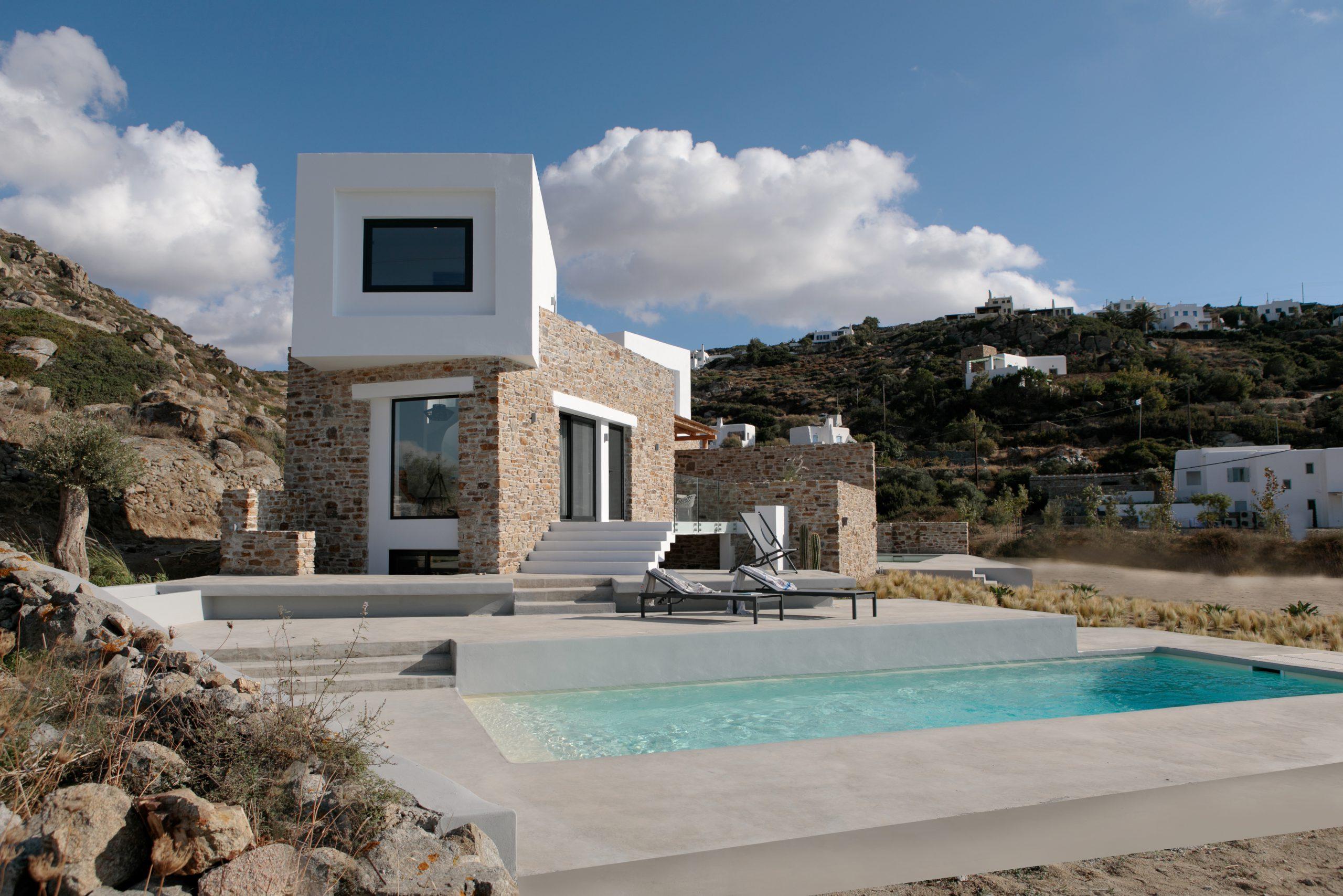 naxos villas luxury