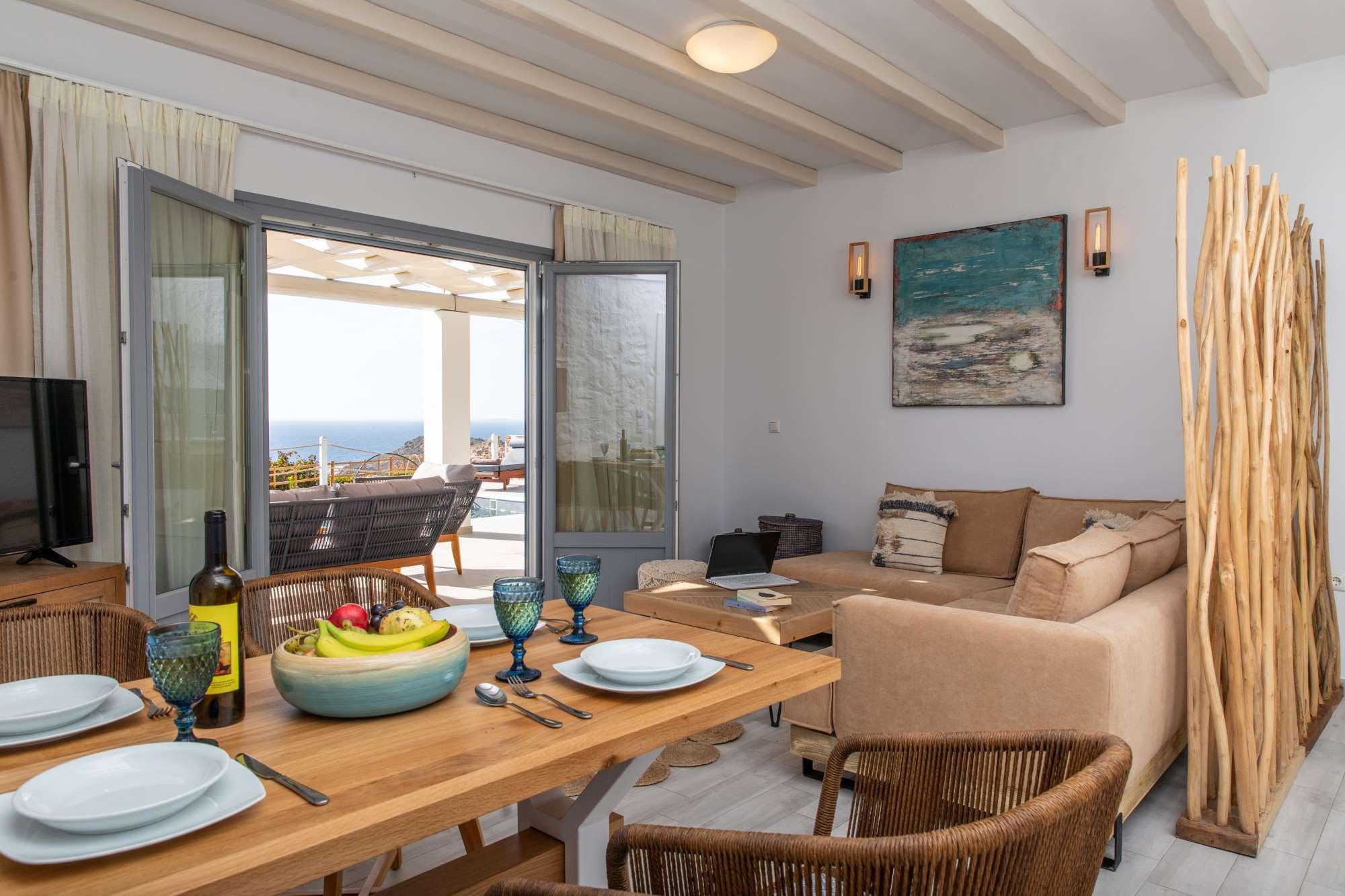 naxos town villas