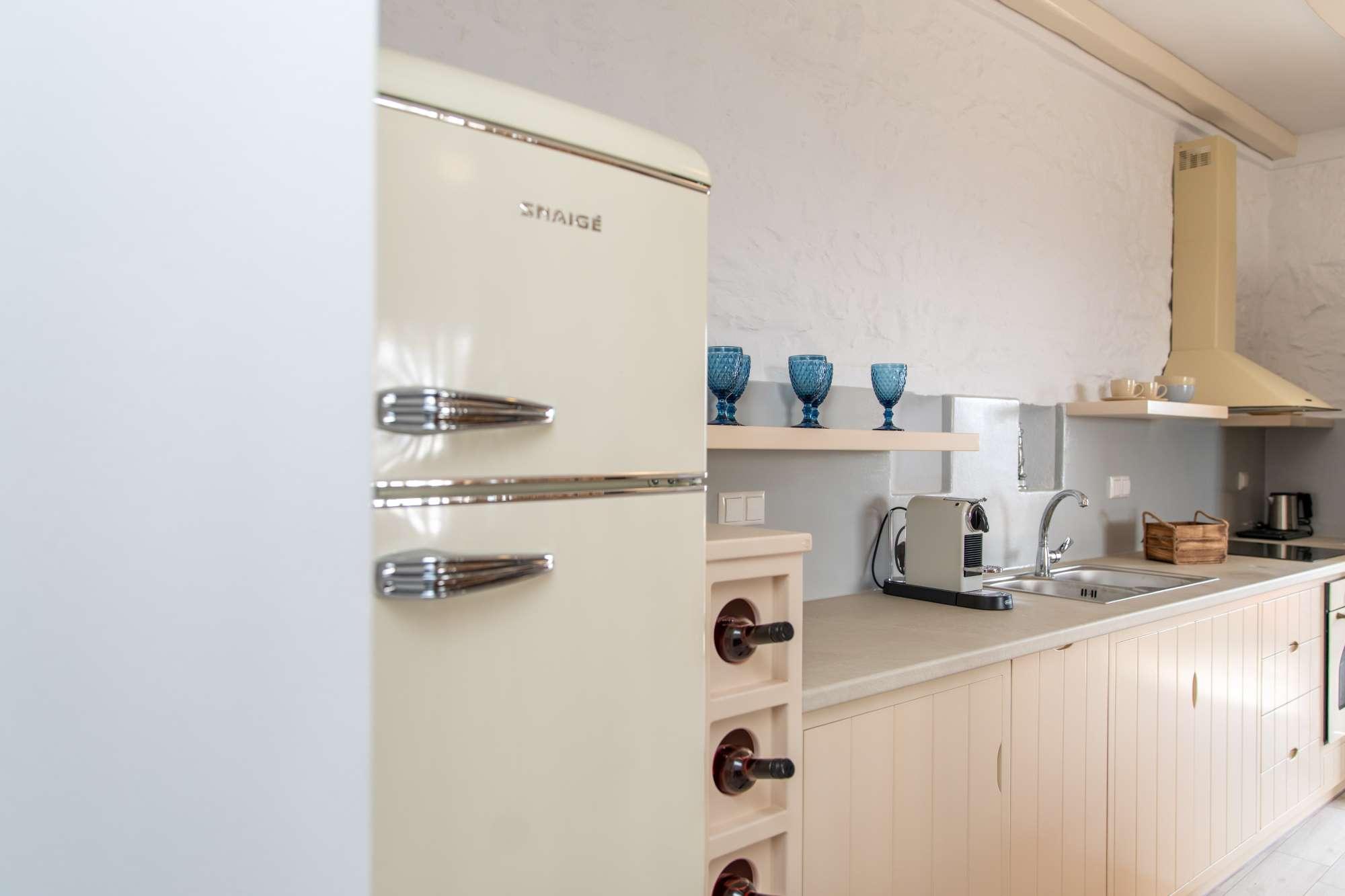 kitchen naxos prokopios villas
