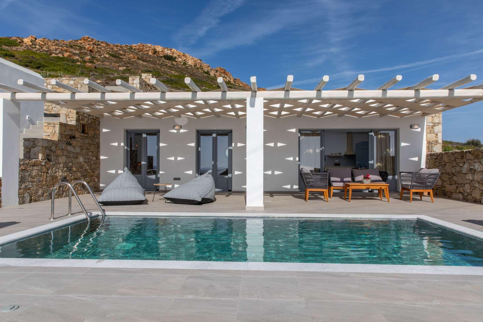 naxos prokopios villas pool