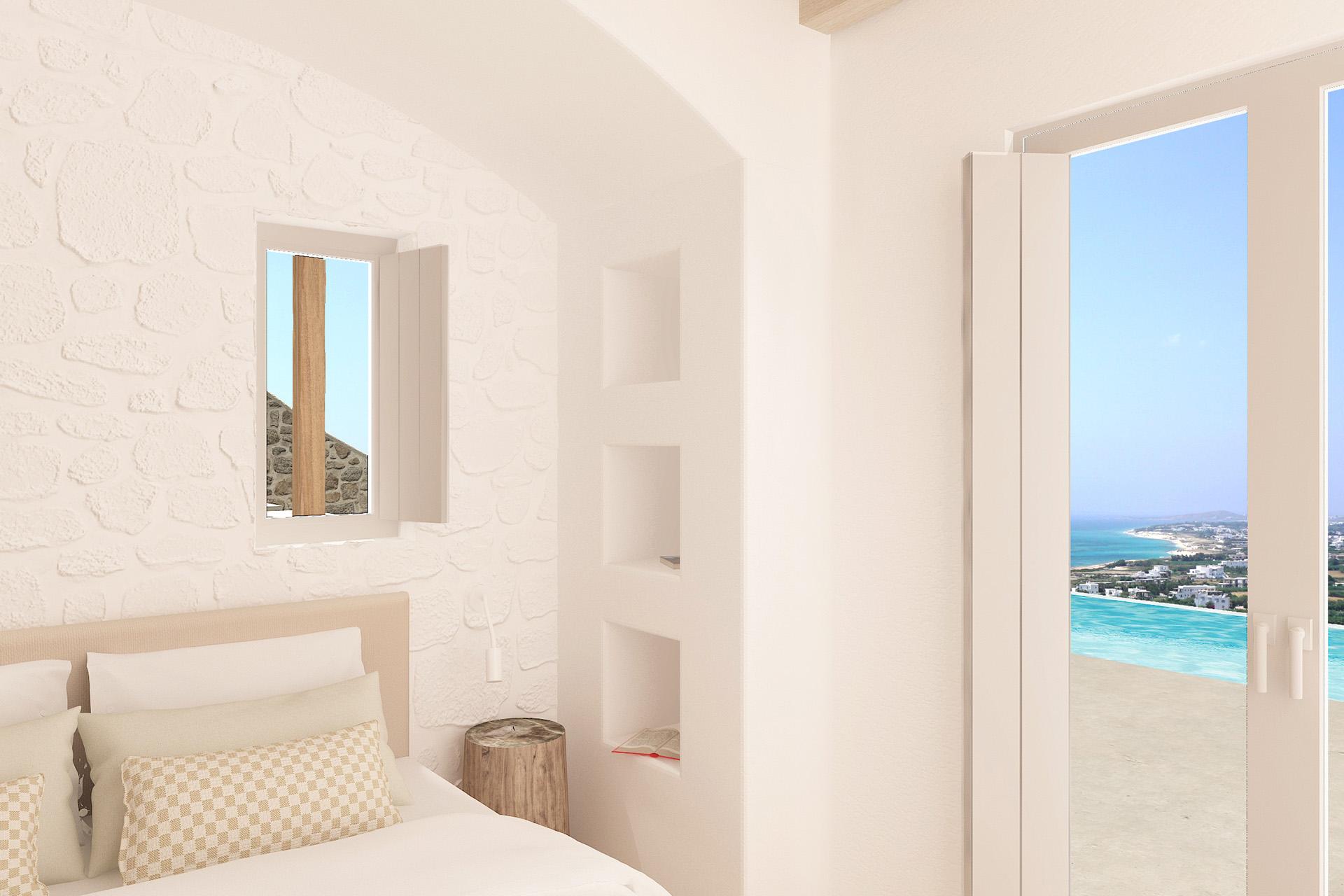 luxury villas rentals naxos