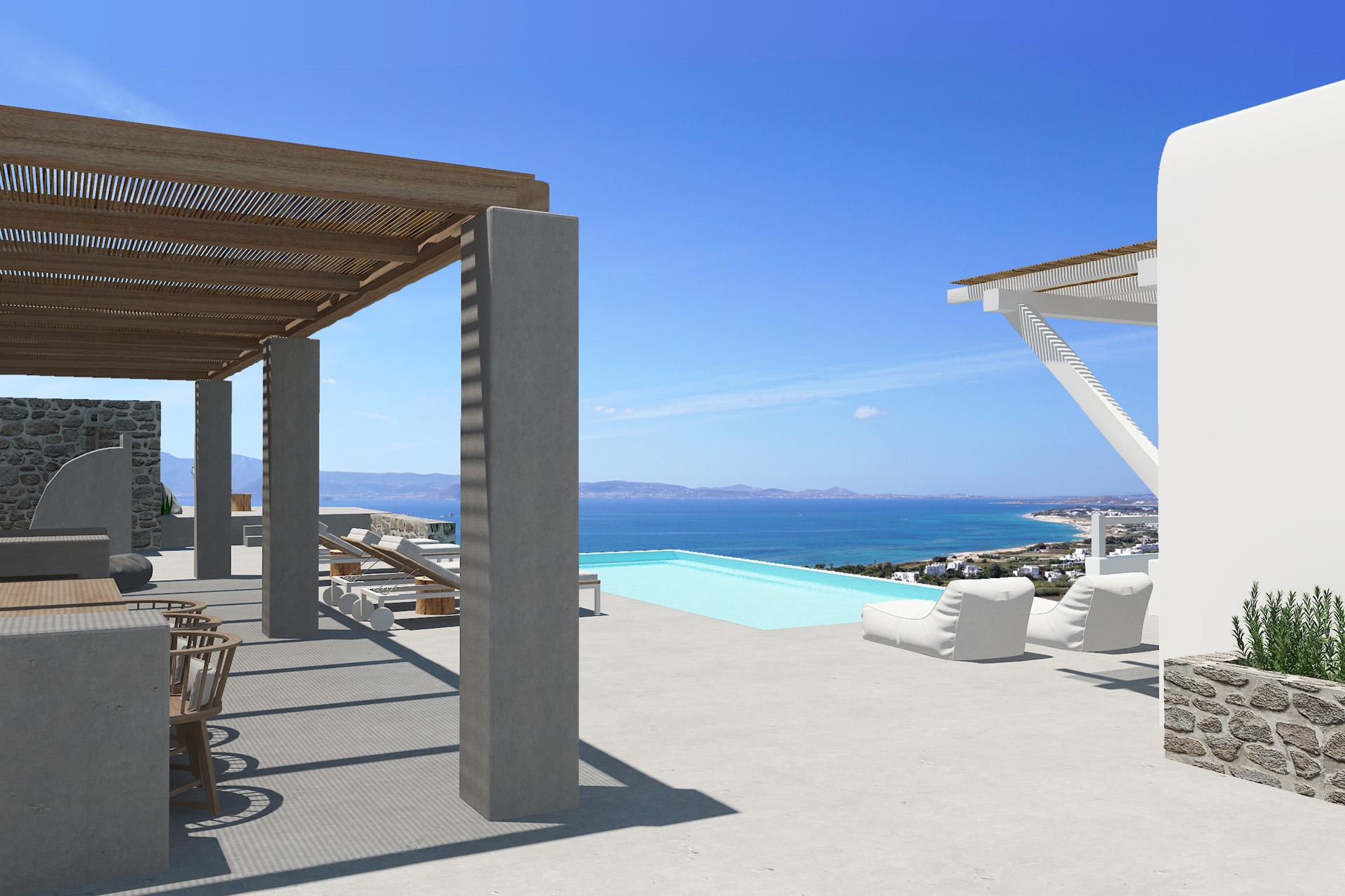 naxos 2 bedroom villas