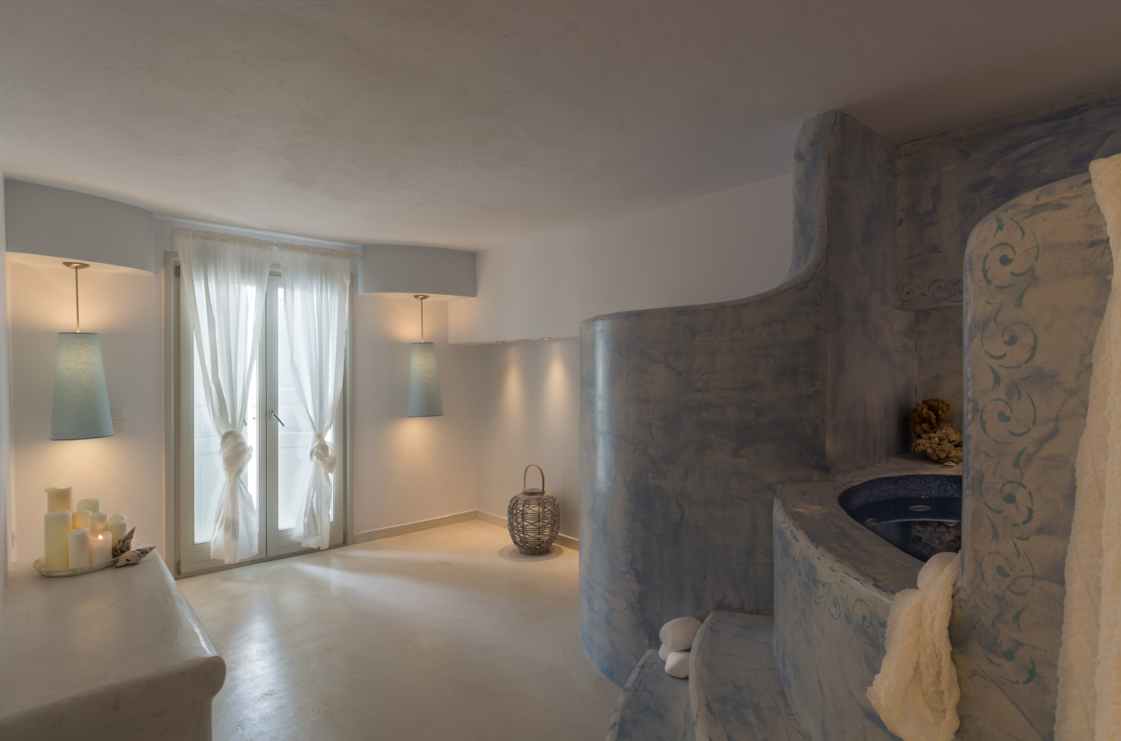 santorini villas 5 bedrooms spa