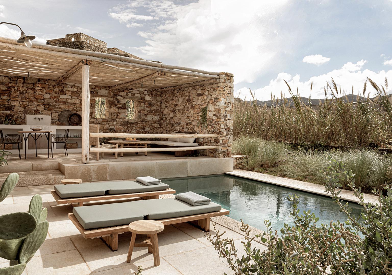 antiparos villas private pools
