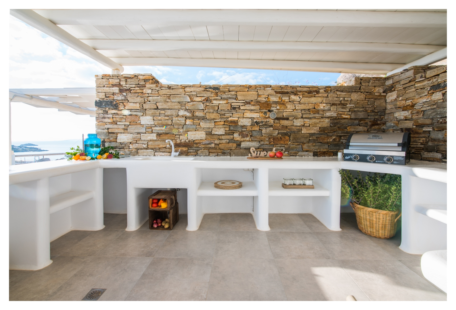 naxos villas private pools
