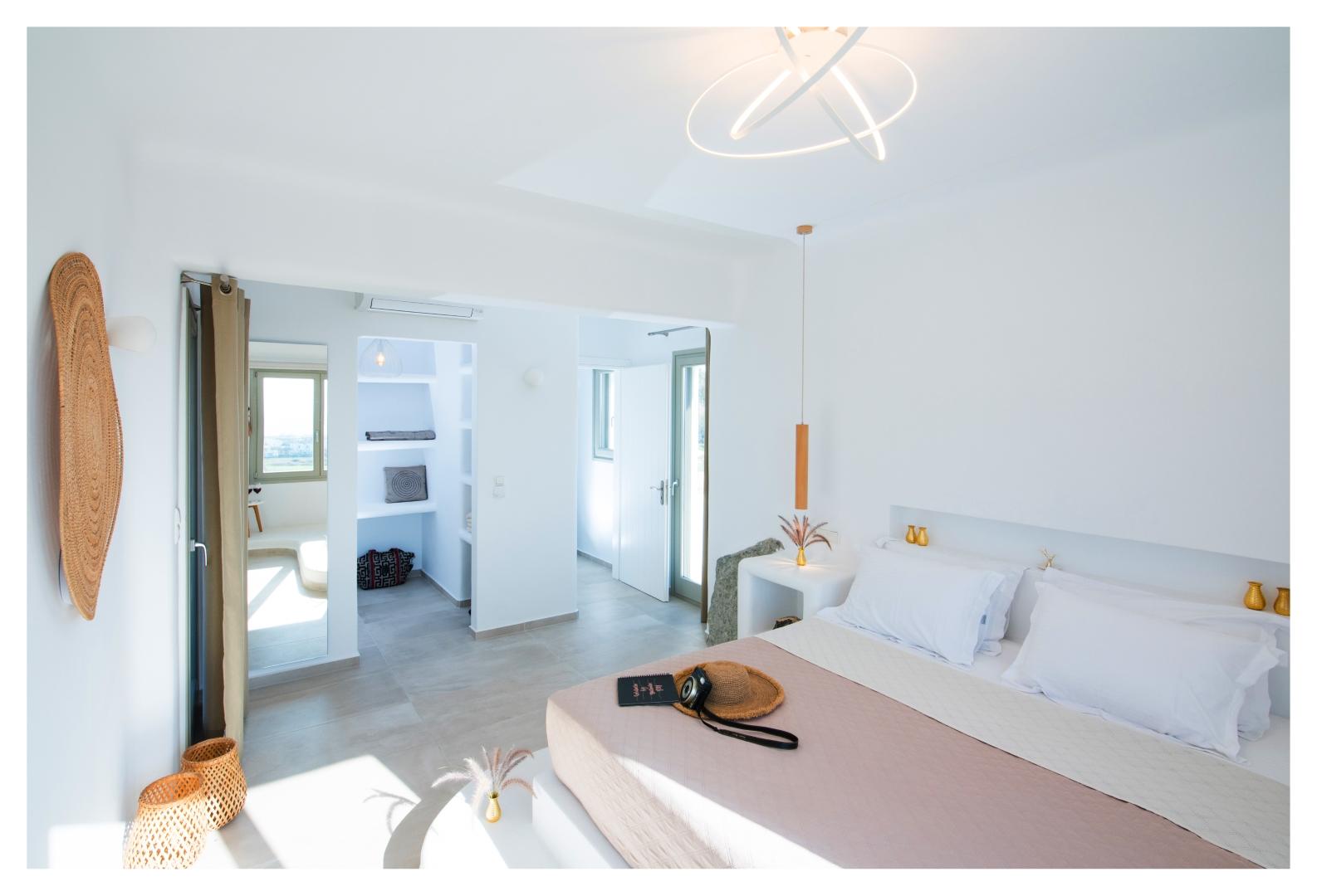 villas naxos private pool