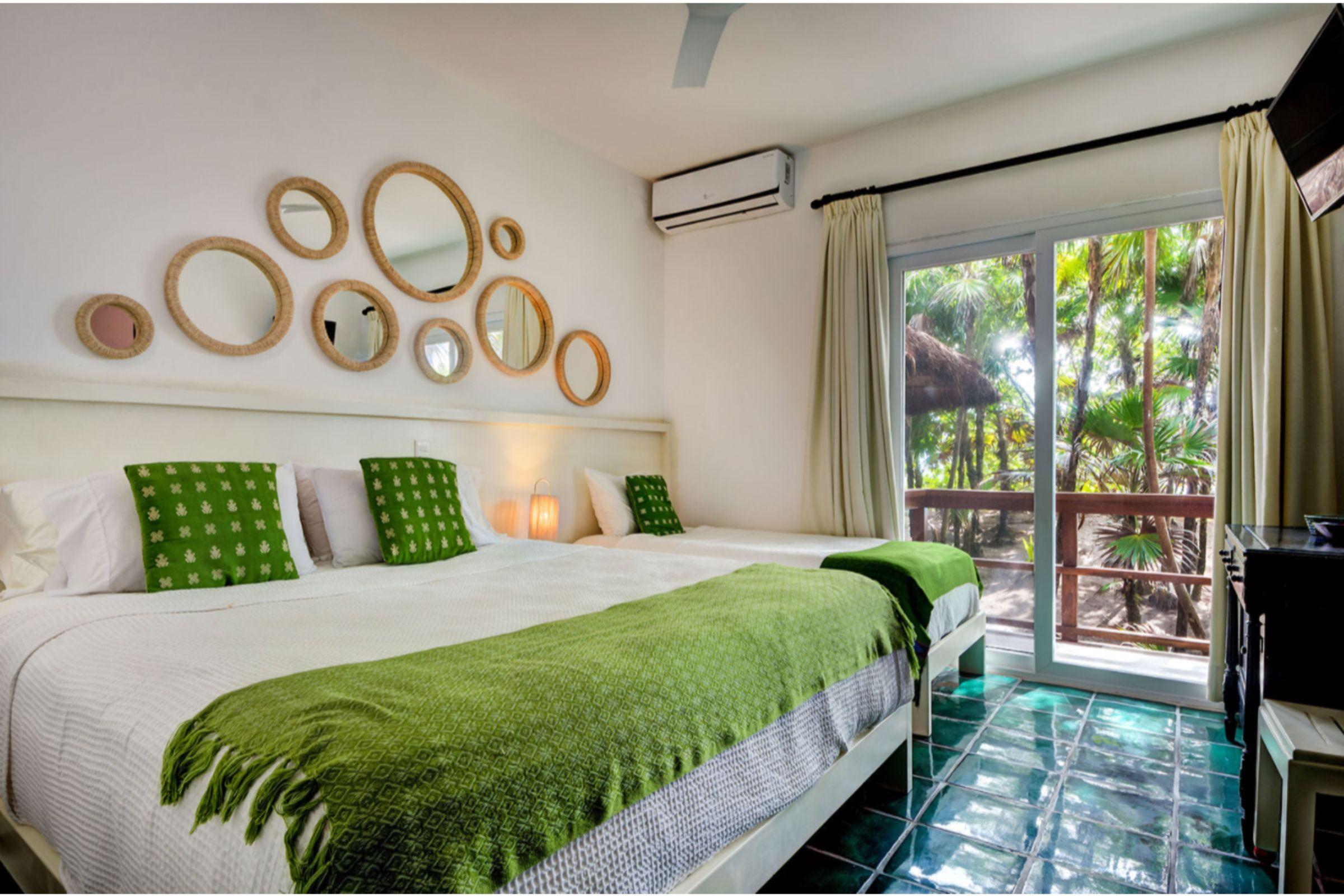 Milagro Tulum villa master room