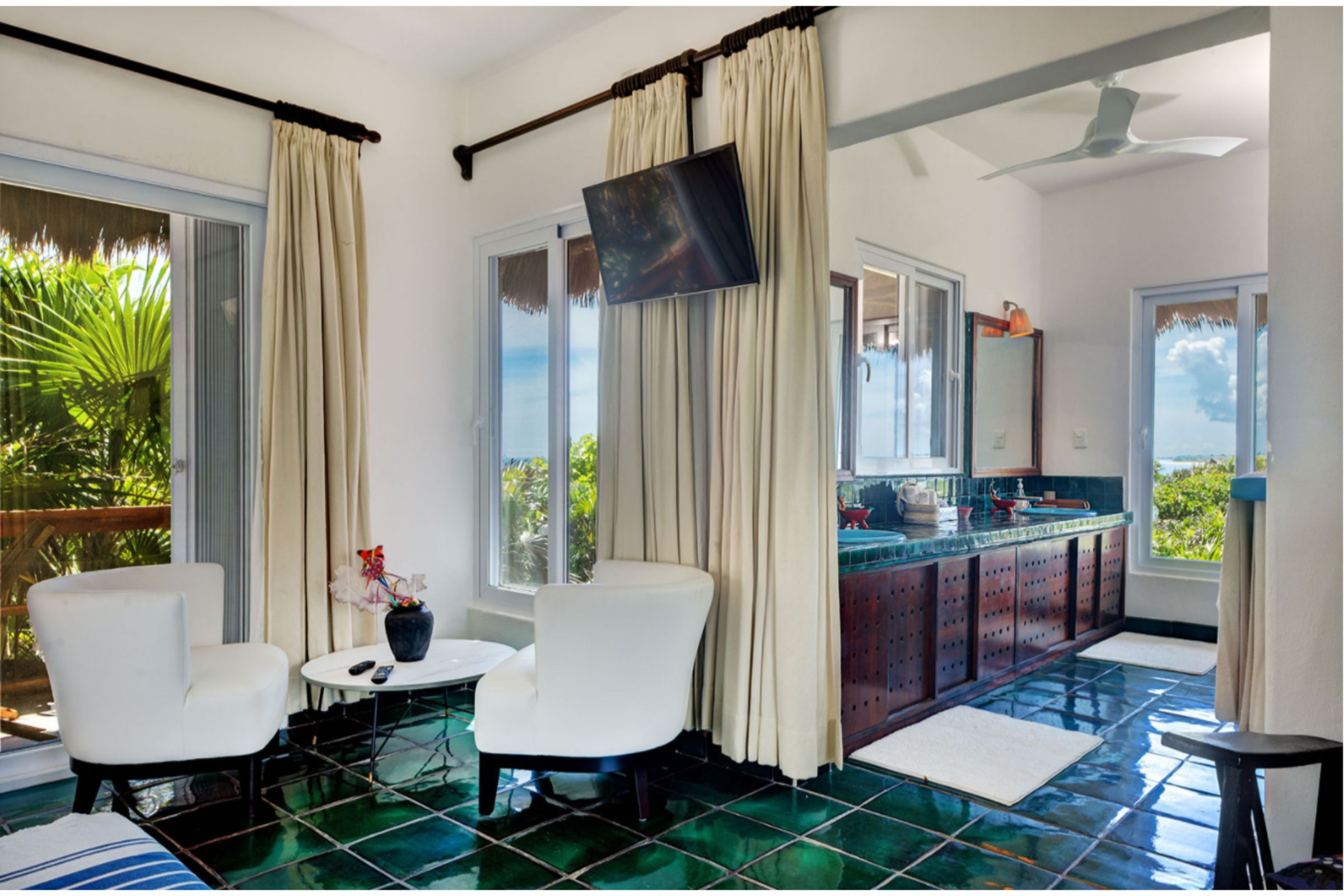 Milagro Tulum villa bedrooms
