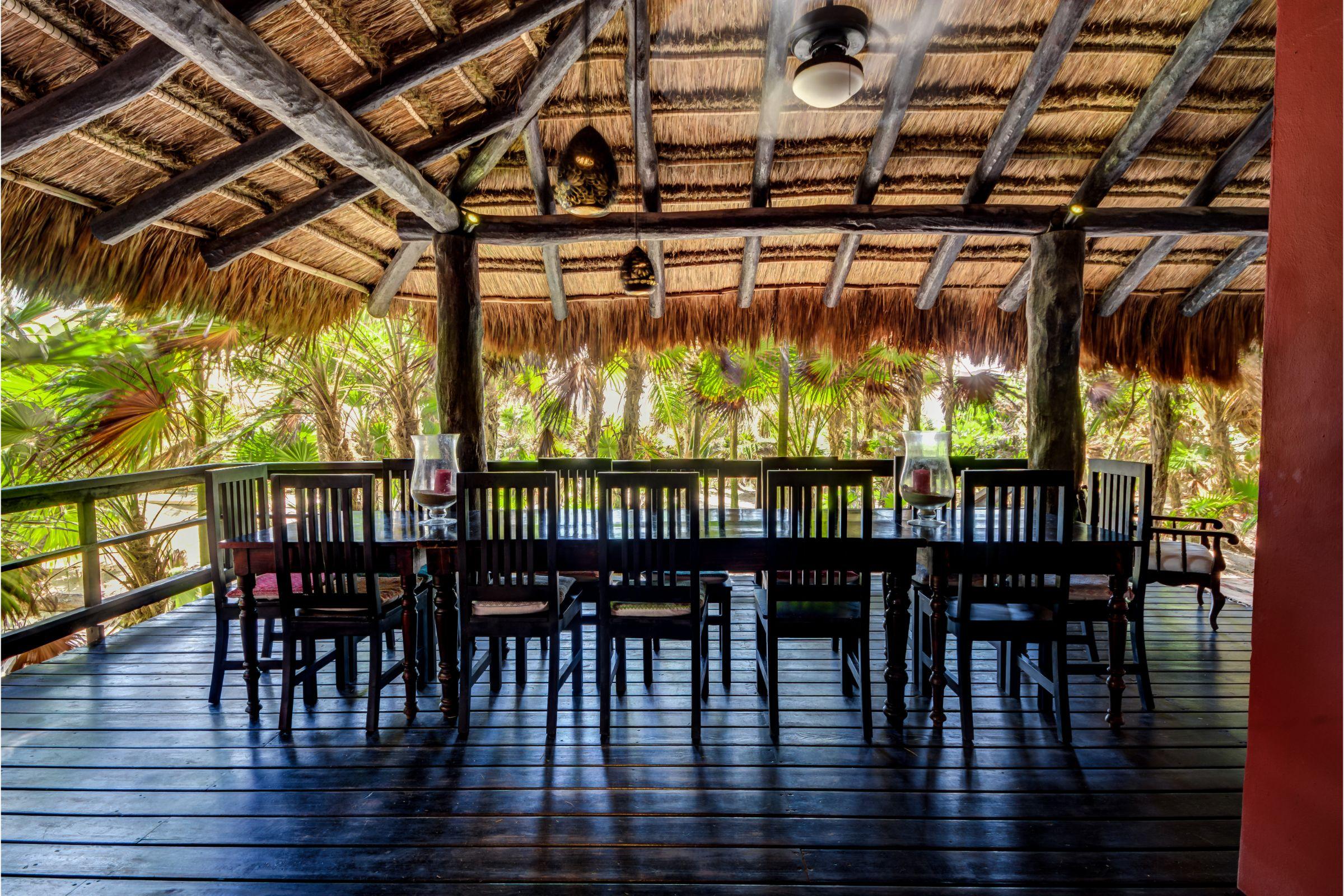 Milagro Tulum villa terrace