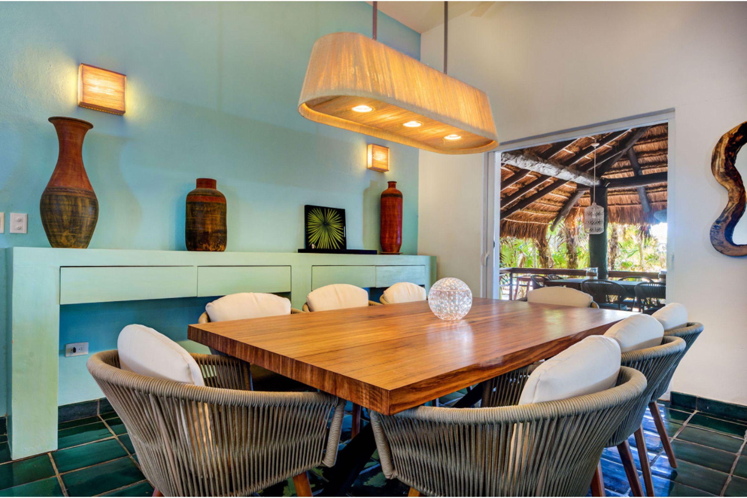 Milagro Tulum villa lounge