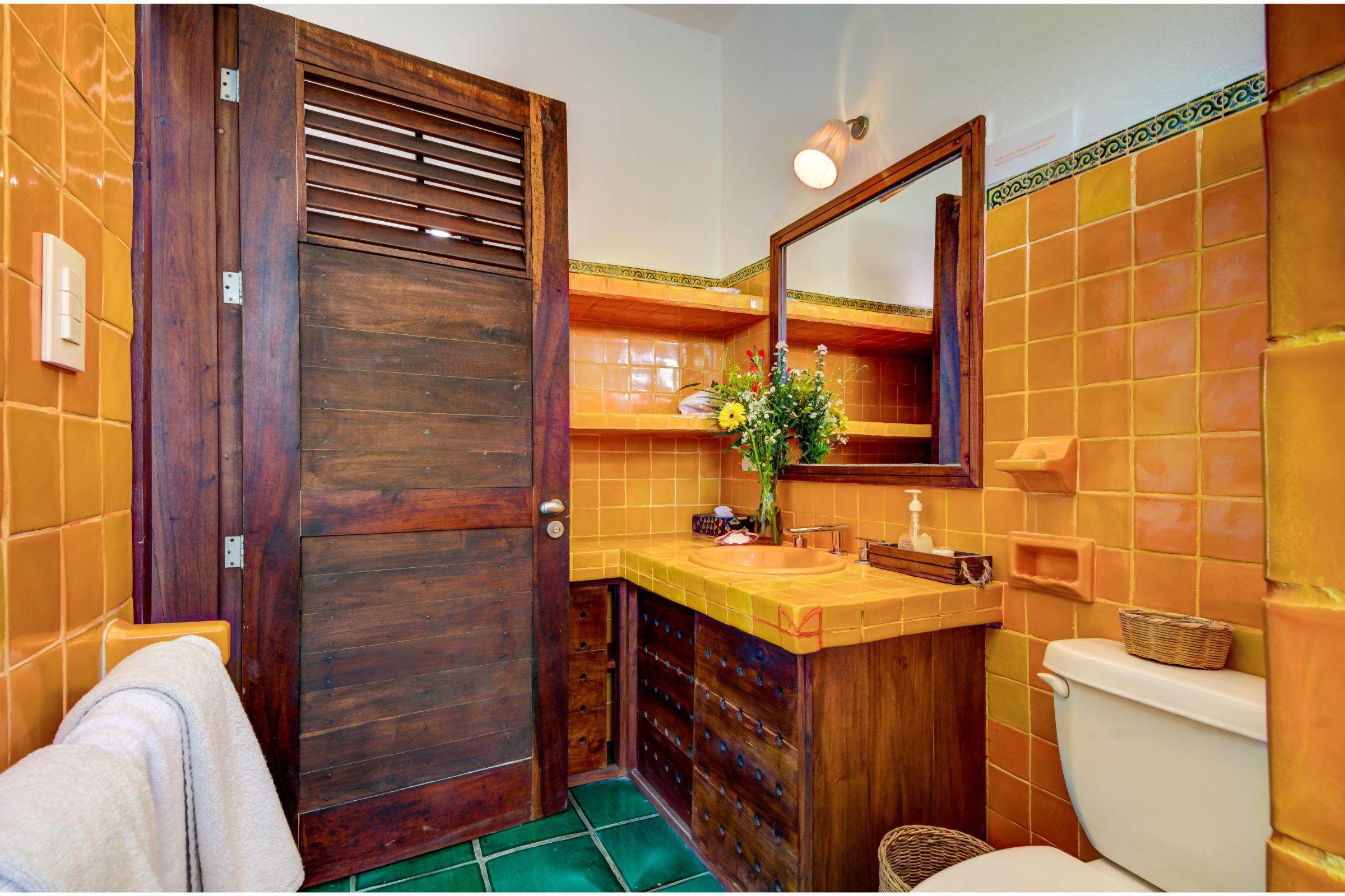 Milagro Tulum villa shower room