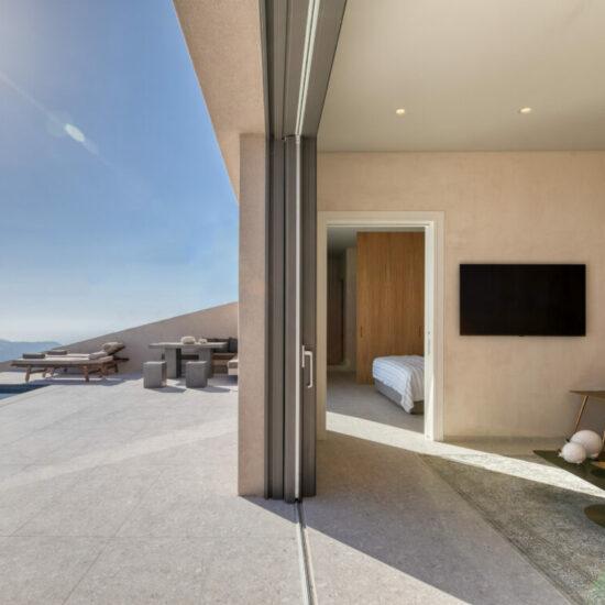 luxury 1 bedroom villas santorini